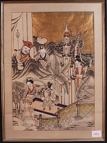 Marvelous Asian Painting, Mid 20th C.