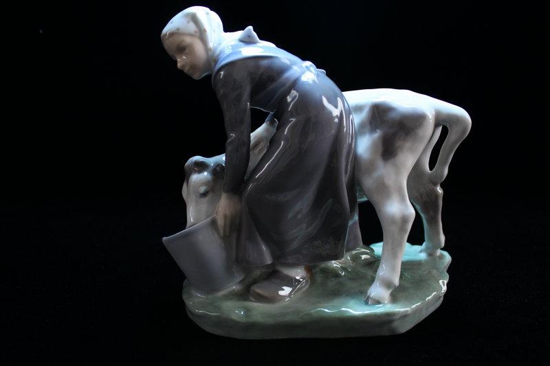 Royal Copenhagen Porcelain Figure.