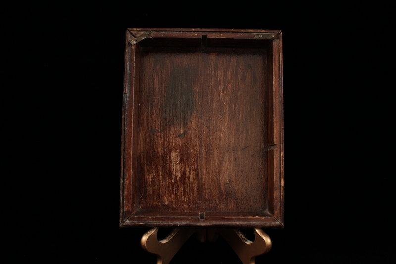 Wonderful Old Wooden Dresser Box.
