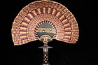 Wonderful African Woven Fan.