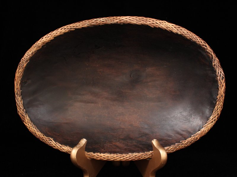 Wonderful Southeast Indian Wooden Bowl.