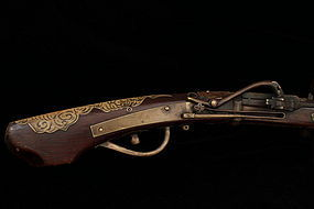 Antique Japanese Musket Tanegashima, 17th C.