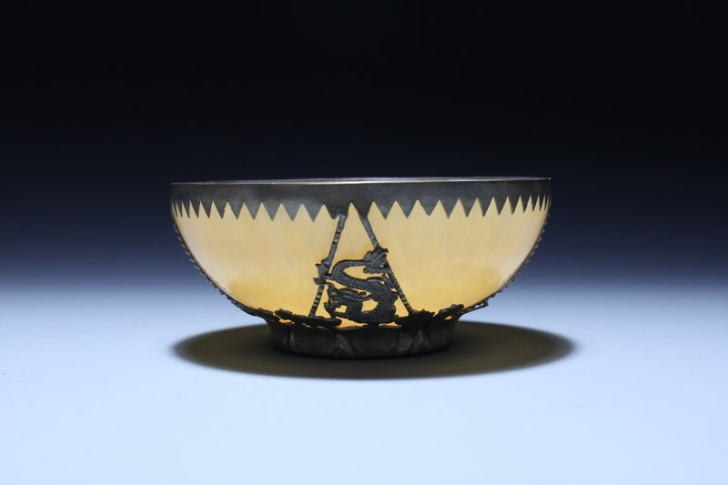 Antique Chinese Jade Bowl,Early 20th C.