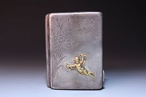 Antique Russian Cigarette case, 19/20 th C.