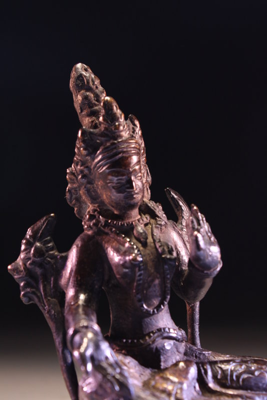 Antique Nepalese Bronze Figure of Buddha,