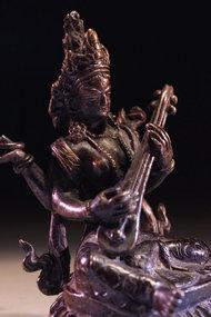Antique Nepalese Bronze Figure of Buddha,