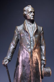 Bronze Figure of Goethe.