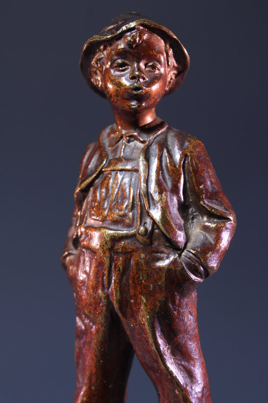 19th c. Superb Bronze Figure,