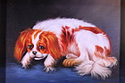 Wonderful Oil Painting of a Dog.