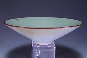 Wonderful Japanese Celadon Porcelain Bowl,