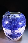 19TH C. BEAUTIFUL CHINESE PORCELAIN GINGER JAR,