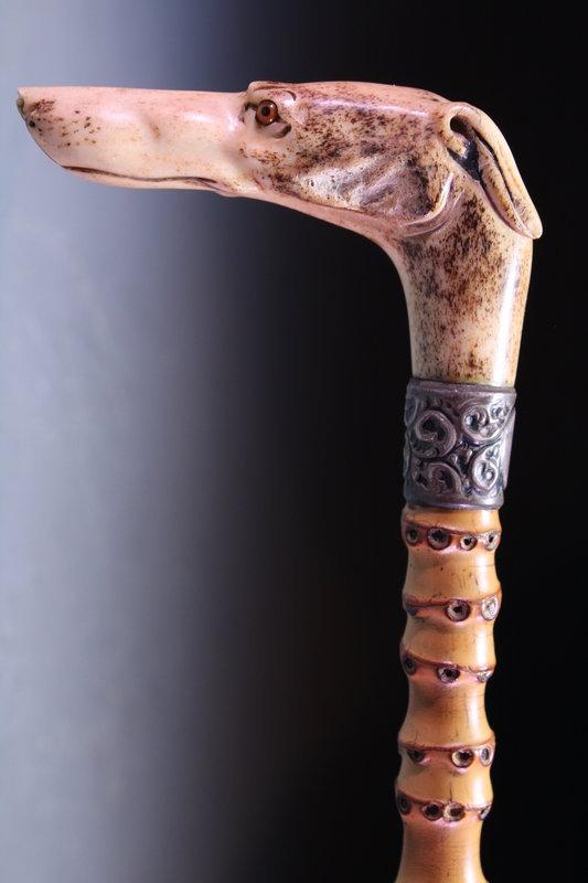 19th c. European Walking Stick/Cane,