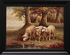 3 landscape Painting, Oil on Canvas,
