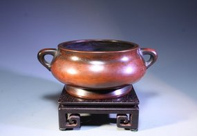 19th C. Chinese Bronze Censer,
