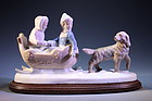 Mid 20th C. Porcelain Figures of Children,