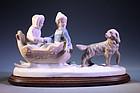 Mid 20th C. Porcelain Figures of Children,