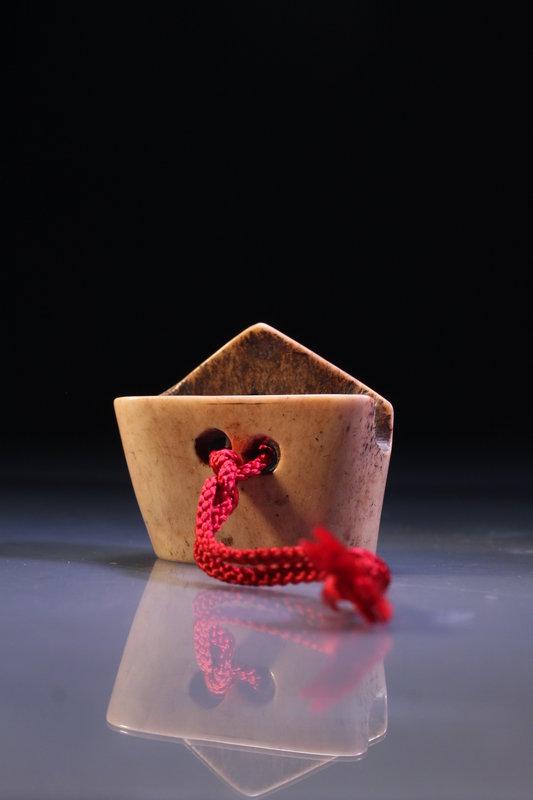 Fine Japanese Carved Antler Netsuke, Meiji Pd