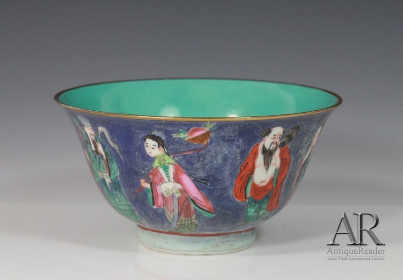 Chinese Famille Rose Enameled PorcelainBowl,