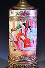 Chinese Export Famille Rose Porcelain Vase,