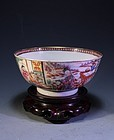 18th C.CHINESE EXPORT FAMILLE ROSE BOWL,