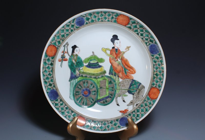 Chinese Enameled Porcelain Bowl,