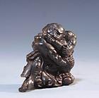 19th C. Japanese Carved Horn Netsuke.