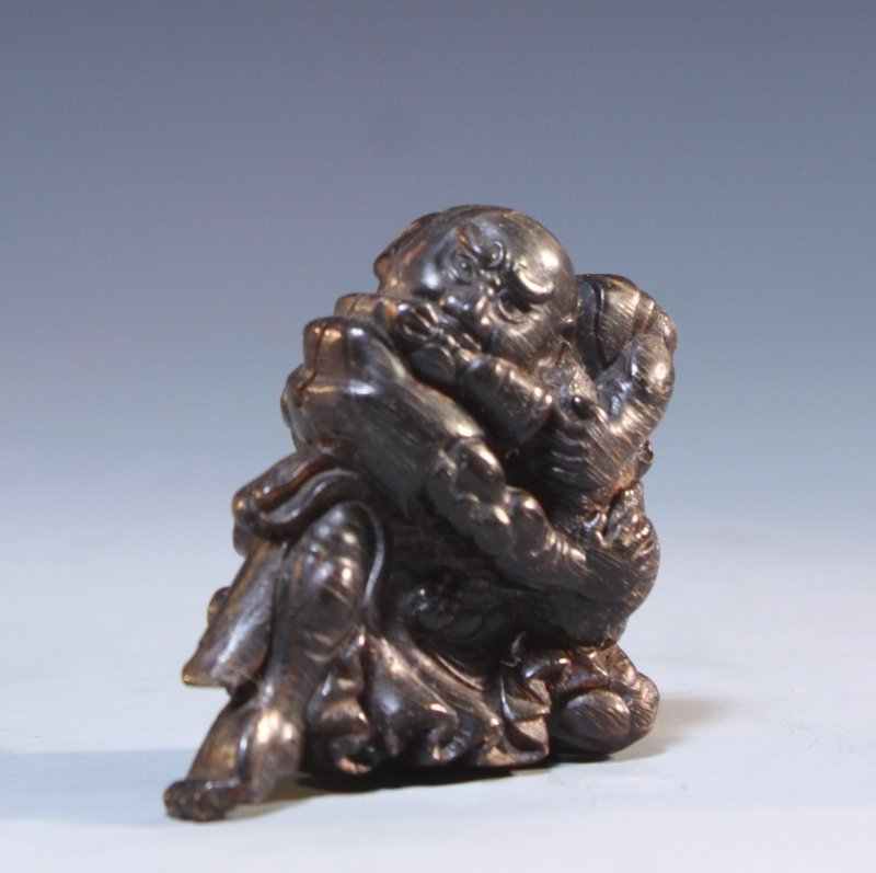 19th C. Japanese Carved Horn Netsuke.