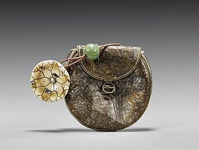 Antique Japanese Tobacco Pouch.