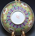 Chinese Enameled Porcelain Bowl.