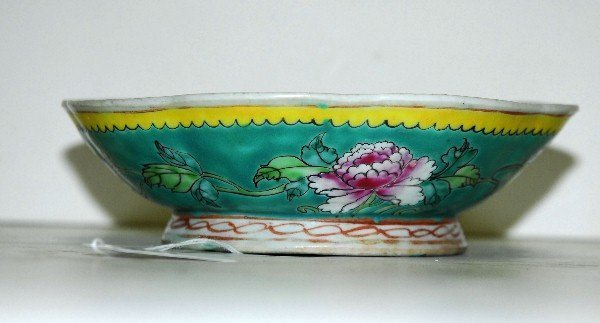 19th C. Chinese Enameled Porcelain Bowl.