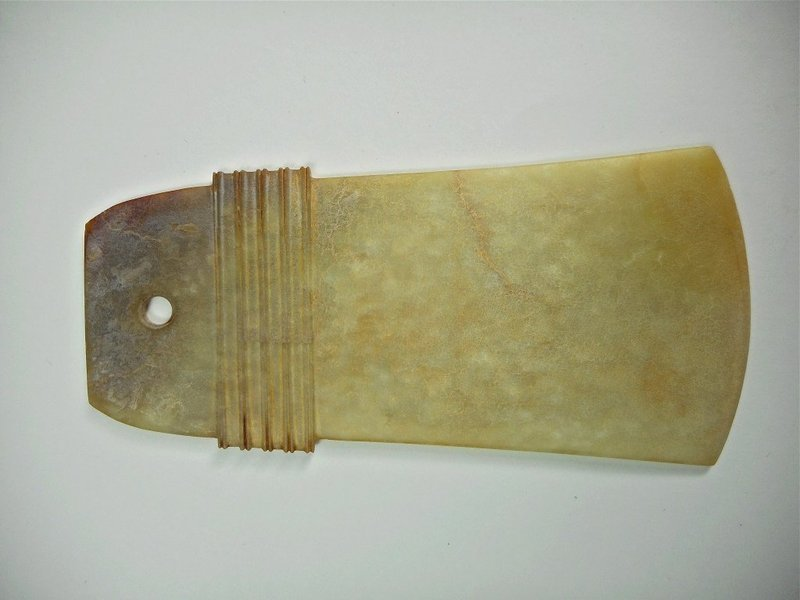 Antique Chinese Jade Yue Axe.
