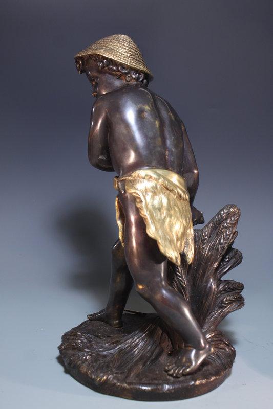 19th C. Bronze Statue Figures; Grouping, Eugene Laurent.