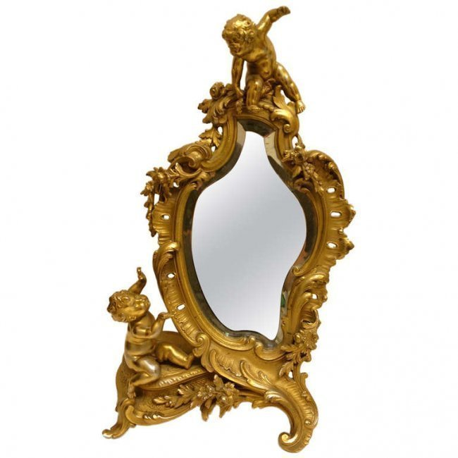 French Jewelers or Dressing Table Mirror.