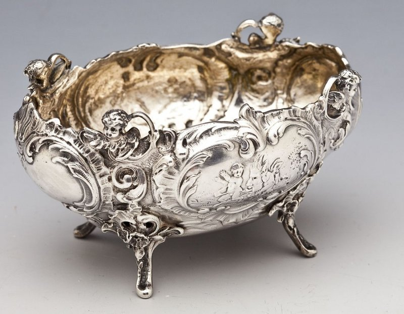 Fine German Sterling Dish; Georg Roth & Co.