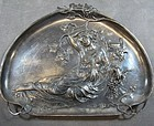 Antique German WMF Art Nouveau Silver Plate Tray.