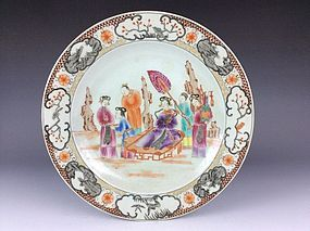 18th C. Chinese Export Porcelain Plate.