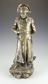 Superb French Bronze Sculpture; Napoleon.