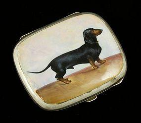.900 Silver Cigarette Case.