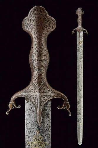 UNIQUE ROYAL SWORD OF THE QAJAR DYNASTY