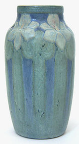 Newcomb College Pottery floral vase by Henrietta Bailey