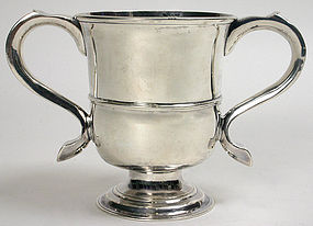 Georgian Newcastle sterling silver cup, John Langlands
