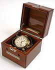 Hamilton chronometer Model 22 deck watch, U.S. Navy