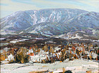 Jay Hall Connaway painting - Green Mtns., VT