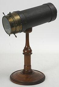 Antique Charles G. Bush parlor kaleidoscope, c.1873