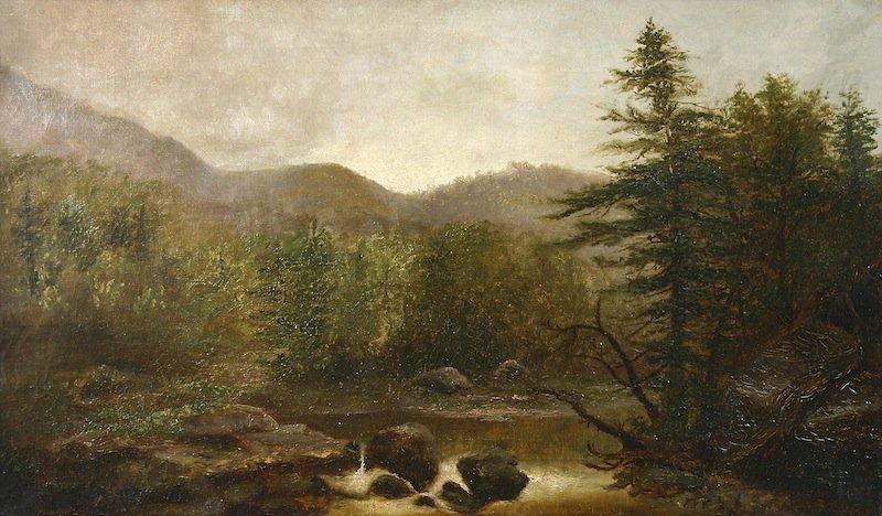 Wesley Elbridge Webber White Mountains painting