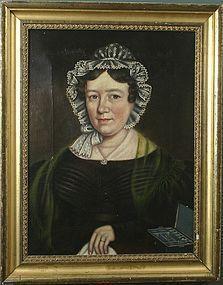Hannah Maria Hudson portrait of Mrs. S.A. Butterfield