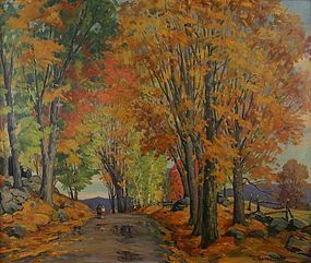 Jacob Greenleaf painting - Autumn Glory landscape