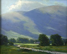 Mark A. Tougias painting - Stowe View, Vermont