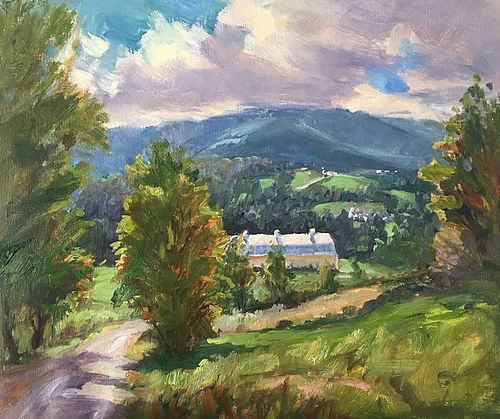 Eric Tobin painting - Late Summer in Vermont