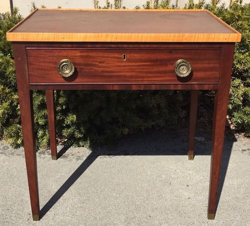 Antique Federal one-drawer server